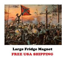 P109 LARGE Confederate Battle Painting Poster Nice Refrigerator Magnet