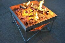 New listing Pop Up Camp Fire Pit Portable - Light Rust Proof 3.6kg - Inc Carrying Bag