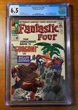 Fantastic Four #44 - Gorgon - CGC 6.5