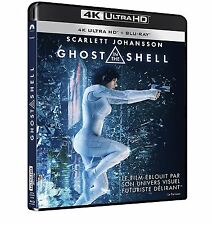 4K ULTRA HD + BLU RAY + DIGITAL HD * GHOST IN THE SHELL *