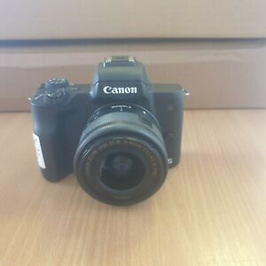 Canon EOS M50 Mirrorless Camera with  EF-M 15-45mm Lens (X14)
