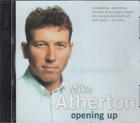 Mike Atherton Opening Up 2CD Audio Book Autobiography Cricket FASTPOST