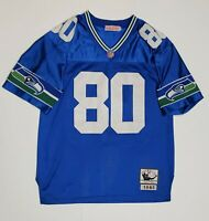 Mitchell & Ness NFL SEATTLE SEAHAWKS STEVE LARGENT Authentic JERSEY SIZE XL 48