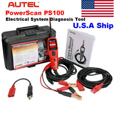 Autel PowerScan PS100 Electrical System Diagnosis Circuit Tester for AVOmeter