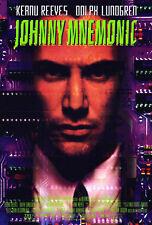 JOHNNY MNEMONIC (1995) ORIGINAL VIDEO MOVIE POSTER  -  ROLLED