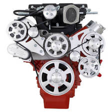 Cvf Chevy Ls Engine Magnuson Serpentine Kit With Alternator Only Polished