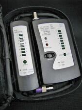 P3 Mfg. Corp. Rj11/12 Rj45 Tsb 568 A/B Network Cable Testers Token Ring Etc.