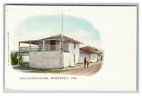 Old Custom House, Monterey CA c1905 Pub M. Rieder Postcard J11