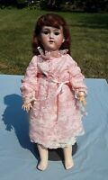"George Borgfeldt, G. B. Bisque Head/Composition Body, 24"" Antique German Doll"