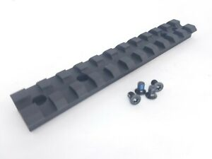 Ruger 10/22 Scope Base Mount - 11 Slot Picatinny / Weaver Rail w/ Hardware 10 22