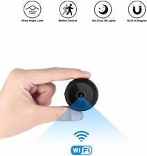 Mini Spy Camera Wireless Hidden Home WiFi Security Cameras with App, Latest Wire