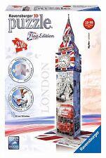 Ravensburger 3D puzzle edificio Big Ben bandera Edición