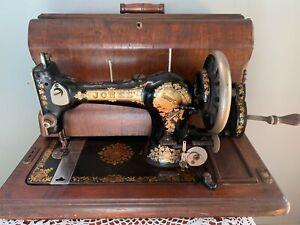 Jones Antique Hand Wind sewing machine