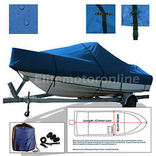 SunRay Mirage 25 Cruiser Cuddy Trailerable boat cover Blue