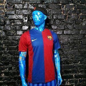Ronaldinho Barcelona Jersey Home football shirt 2006-2007 Nike Trikot Mens SZ M