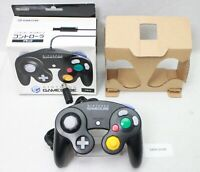 Nintendo Gamecube Controller Black DOL-003 Work Joypad Boxed Japan 1809-100