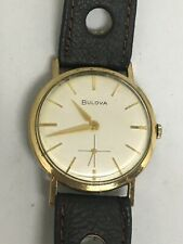 Bulova Watch 17 Jewels, stainless steel back, working