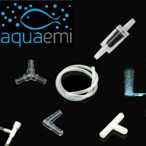 Fish Tank Air Pump Hose Tube Pipe 4x6mm Connector Joiner Oxygen Valve Aquarium