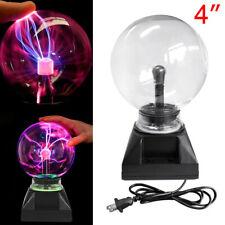 "4"" Magic Plasma Ball Sphere Lightning Crystal Globe Touch Motion Nebula Light"