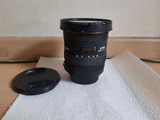 Objectif Zoom Sigma10-20 mm F3,5 EX DC HSM - Monture Canon