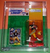 1994 BRETT FAVRE Green Bay Packers Rookie Starting Lineup w/ display case Farve