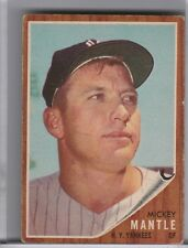 1962 TOPPS #200 MICKEY MANTLE NEW YORK YANKEES HOF 4076