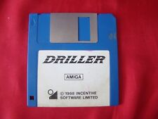 DRILLER AMIGA 1988 INCENTIVE SOFTWARE LIMITED  DISKETTE