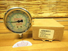 "New listing 2.5"" Liquid filled gauge 30 Hg / 70 psi/Kgcm2 1/4"" Npt 4203631"