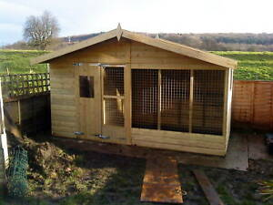 Dog Kennel and run  CHALET     -    From £510