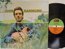 JOHN HAMMOND - Sooner or Later LP (1st US Pressing 1A)