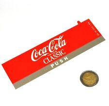 Vintage Coca-Cola Cavalier Automaten Label Beschriftung Schild Machine Tag SA10