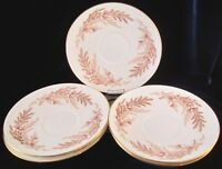 Minton Bedford Bone China Saucers Only - Set of 5 - S669 - England