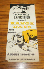 Vintage 1950's Travel Brochure - Black Hills Rapid City, South Dakota