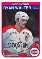 1982-83 O-Pee-Chee Ryan Walter Montreal Canadiens #194