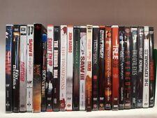 DVD Sammlung Action Thriller Blockbuster FSK Ab 18 Freigegeben