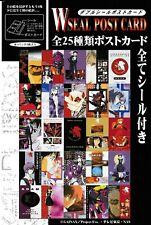 Evangelion 5 Postcard Sticker Seal Set