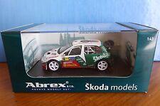 SKODA FABIA WRC #21 EVOII CATALUNYA RALLYE 2006 KOPECKY ABREX 143XAB601TD 1/43