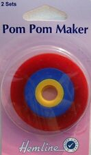 Hemline Pom Pom Maker – 2 Sizes 35/55mm