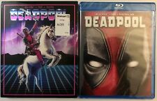 NEW MARVEL DEADPOOL BLU RAY DVD + DIGITAL HD & RARE WALMART EXCLUSIVE SLIPCOVER