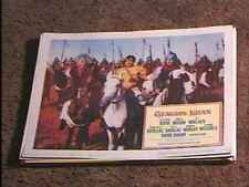 GENGIS KHAN '65 LOBBY CARD #2 HISTORICAL