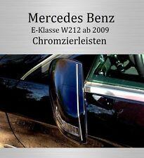 MERCEDES E-KLASSE W212 - 3M CHROM-LEISTE ZIERLEISTE CHROMLEISTE SPIEGEL OBEN