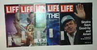 5 Life Magazines 1971 March 26 April 9 May 21 June 25 October 1 Big Brother FBI