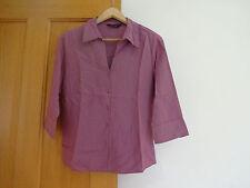 Ladies, pink Dorothy Perkins shirt size 12