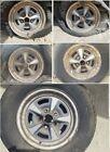 FIVE Wheels 70s Pontiac Rally II 14 x 6 ( 5 x 4 3/4