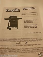 Char-Broil BBQ Grill Model 463631009 Product Guide Owner's Manual Grilling Tips