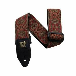 Ernie Ball Jacquard Guitar Strap - Crimson Paisley PO4162
