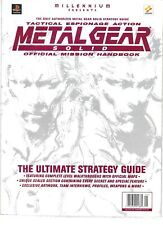 METAL GEAR SOLID PlayStation 1 Ultimate Strategy Guide