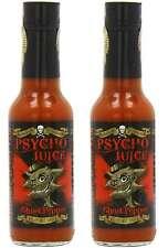 DR burnorium PSYCHO Juice 70% Ghost Pepper Naga - 2 x molto salsa piccante-Set di 2