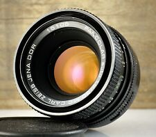 Superb lens CARL ZEISS JENA - PANCOLAR auto 1.8/50 MC * 50mm 1:1.8 * M42 mount