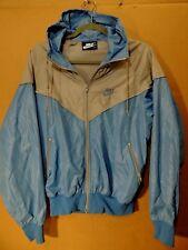 Vintage Original Nike Windrunner Tarheel Blue Tag Womens Jacket M Rare!